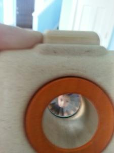 July Box Camera lens