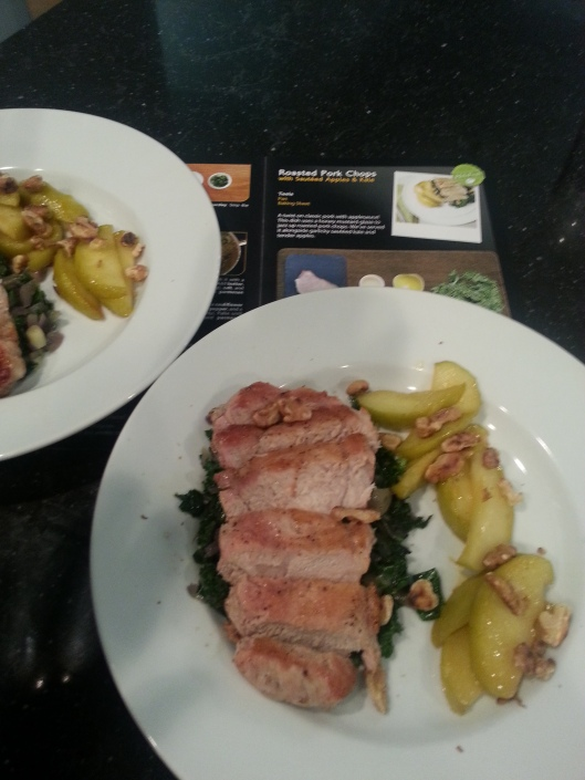 HelloFresh Roasted PorkChop