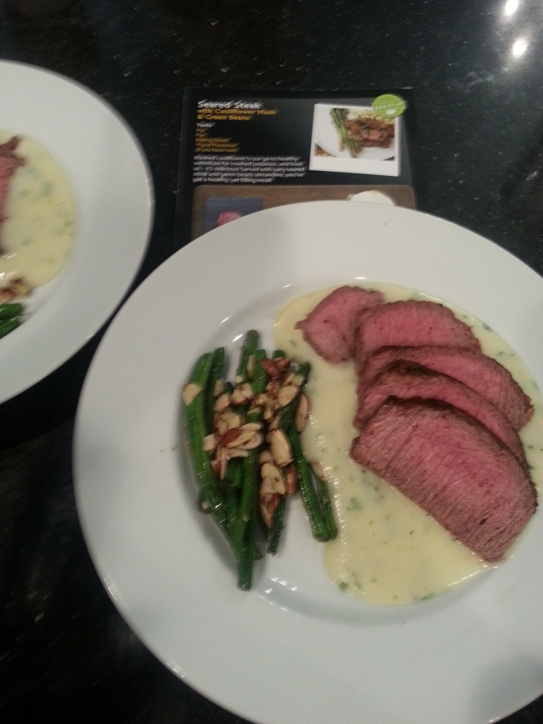 HelloFresh Seared Steak