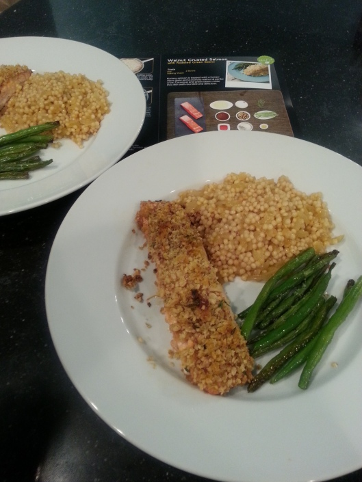 HelloFresh Walnut Crusted Salmon